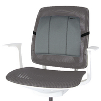 Fellowes Slimline Back Support with Adjustable