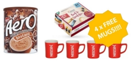 Offer of the Week: Hot Drinks & Snack Bundle with FREE MUGS!
